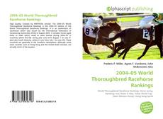 2004–05 World Thoroughbred Racehorse Rankings kitap kapağı