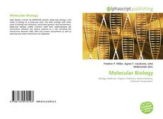 Bookcover of Molecular Biology