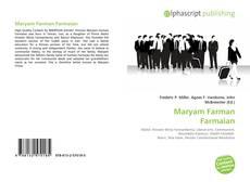 Bookcover of Maryam Farman Farmaian
