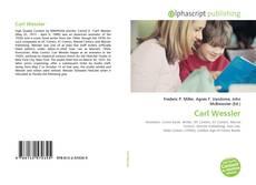 Portada del libro de Carl Wessler