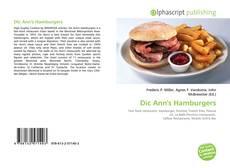 Bookcover of Dic Ann's Hamburgers