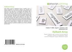 Bookcover of Halbach Array