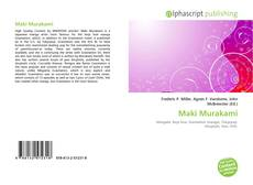 Bookcover of Maki Murakami