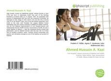 Ahmed Hussain A. Kazi kitap kapağı