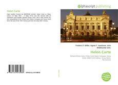 Buchcover von Helen Carte