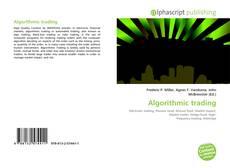 Couverture de Algorithmic trading
