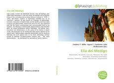 Обложка Elia del Medigo