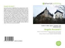 Buchcover von Angelo Acciaioli I