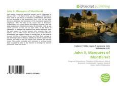 Portada del libro de John II, Marquess of Montferrat