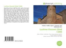 Bookcover of Luchino Visconti (Died 1349)