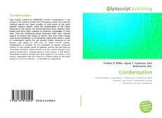 Bookcover of Condensation