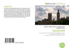 Bookcover of Equality Bill