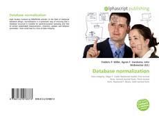 Portada del libro de Database normalization