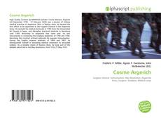 Capa do livro de Cosme Argerich