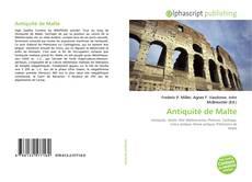 Antiquité de Malte的封面