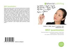 Bookcover of BRST quantization