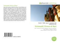 Bookcover of Grimoald, Prince of Bari
