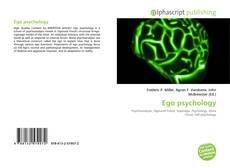 Bookcover of Ego psychology