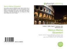 Couverture de Marcus Marius (Quaestor)