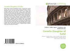 Bookcover of Cornelia (Daughter of Sulla)