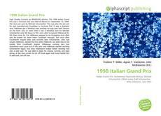 Borítókép a  1998 Italian Grand Prix - hoz