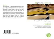 Bookcover of Lexicon