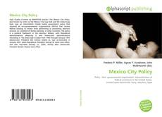 Mexico City Policy的封面