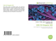 Bookcover of ICD-10 Chapter XIX