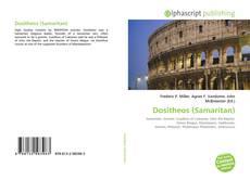 Bookcover of Dositheos (Samaritan)