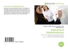 Capa do livro de Déterminant (Mathématiques)