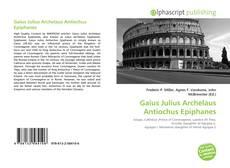 Обложка Gaius Julius Archelaus Antiochus Epiphanes