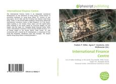Bookcover of International Finance Centre