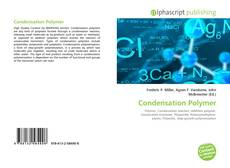 Bookcover of Condensation Polymer