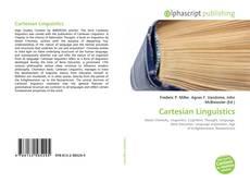 Обложка Cartesian Linguistics