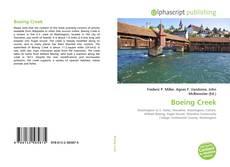 Copertina di Boeing Creek