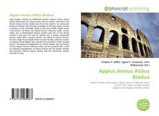 Portada del libro de Appius Annius Atilius Bradua