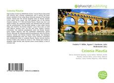 Bookcover of Ceionia Plautia