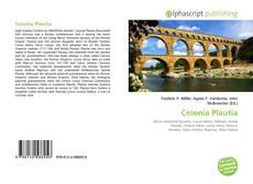 Capa do livro de Ceionia Plautia