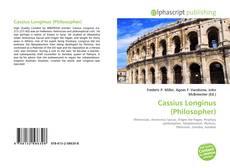 Cassius Longinus (Philosopher)的封面