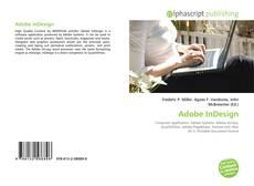 Portada del libro de Adobe InDesign