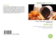 Acide Gras的封面