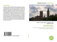 Portada del libro de Clockkeeper