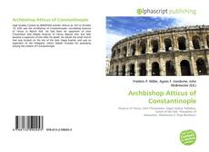 Bookcover of Archbishop Atticus of Constantinople