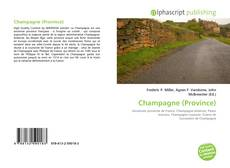 Bookcover of Champagne (Province)