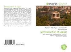 Copertina di Menelaus (Son of Lagus)