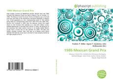 Buchcover von 1986 Mexican Grand Prix