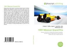 Bookcover of 1991 Mexican Grand Prix