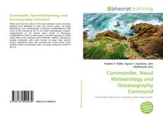 Capa do livro de Commander, Naval Meteorology and Oceanography Command