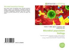 Microbial population biology的封面