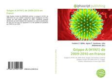 Portada del libro de Grippe A (H1N1) de 2009-2010 en France